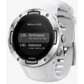 Suunto 5 GPS Sports Watch white